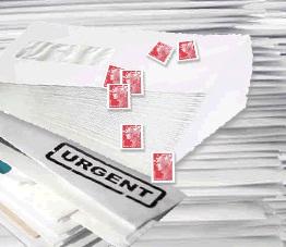 Aperçu de l'offre d'affranchissement courrier